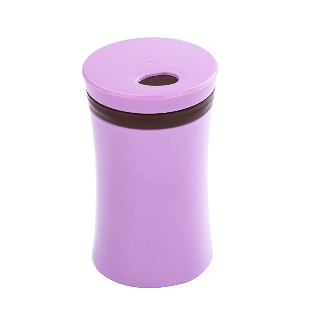 MUYIER Portable Toothpick Holder, European Creative Toothpick Holdertoothpick Box with Adjustable Pour Holes for Living Room Kitchen 3 Pack,Purple by MUYIER