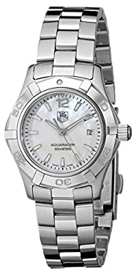 "TAG Heuer Women's WAF1414.BA0823 ""Aquaracer"" Stainless Steel Dress Watch"