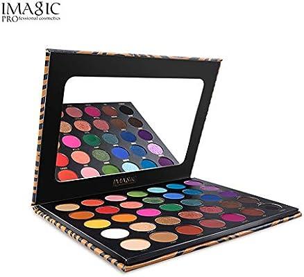 Paleta de Sombras de Ojos de Colores pigmentados, Maquillaje de Ojos, 35 Tonos, Colores Mate y Brillantes, Larga duración, Alta pigmentación, Juego de cosméticos de Sombra de Ojos: Amazon.es: Electrónica
