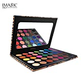 Beauty Glazed Eyeshadow Palette Pigmented Colors Makeup Pallets - Eye Makeup 35 Shades Matte and Shimmer Pop Colors - Long Lasting High Pigment Eye Shadow Cosmetics Set (35 Color(Eye Shadow Set))