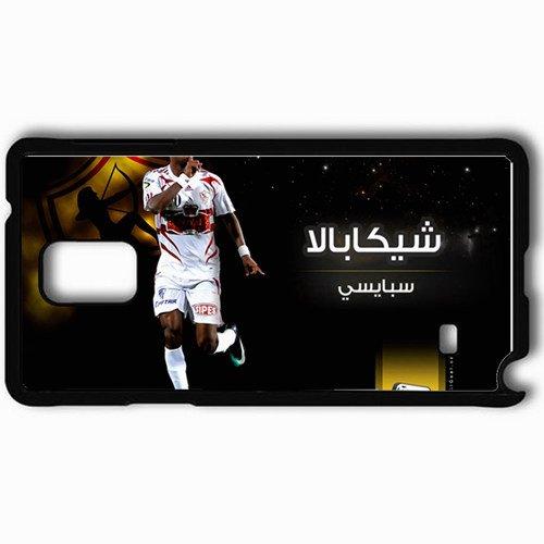 Personalized Samsung Note 4 Cell phone Case/Cover Skin Shikabala S Egypt El Zamalek Football Black