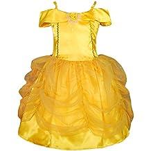 Dressy Daisy Girls' Belle Princess Costume Halloween Party Fancy Dresses FC017