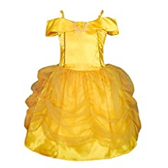Your little princess will look like and feel like a real princess in this dress. It is great for fancy dress party, Halloween, or simply for fun! You and your baby are going to love this costume.For the shipments fulfilled by seller, it takes...