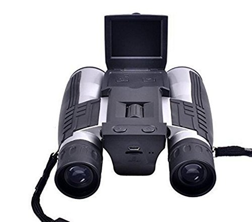 Emperor of Gadgets Digital Binocular Camera – 12x32 Digital Binoculars with 2 Inch LCD View Screen and Optical + Digital Zoom by Emperor of Gadgets