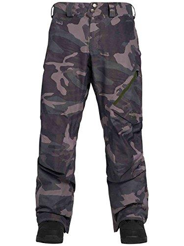 Burton Men's [ak] Gore‑TEX Cyclic Pant (Wormwood Camo, X-Large) -