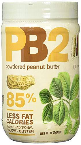 16 Souffle Ounce Sugar - Bell Plantation PB2 Powdered Peanut Butter, 16-Ounce