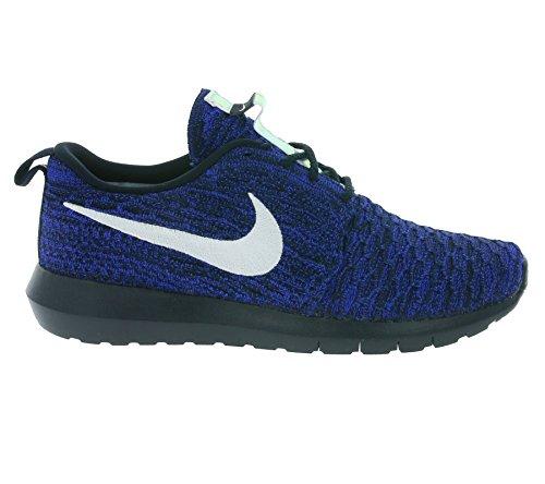 Nike Vrouwen Roshe Een Flyknit Sportschoen Blau