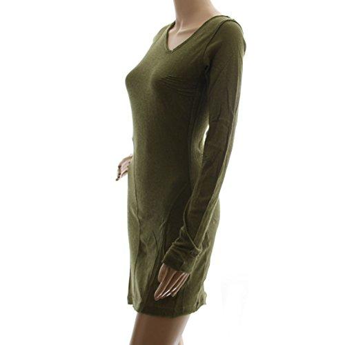 DIESEL robe tunique femme DHEMA vert T.S