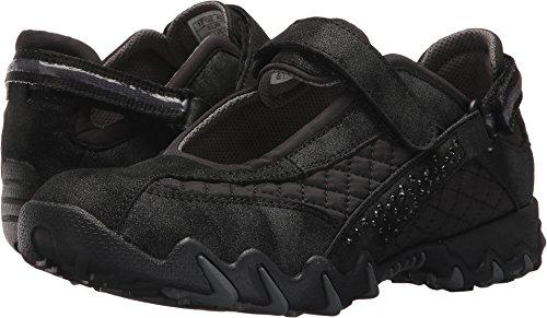 Allrounder by Mephisto Women's Niro Diamonds Black T Metallic/W Mesh 38 M EU (Allrounder Black Shoes)