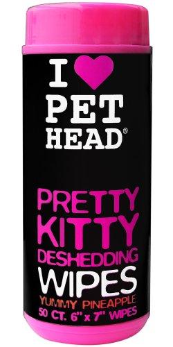 Pet Head Pretty Kitty Deshedding Wipes (Pretty Kitty)