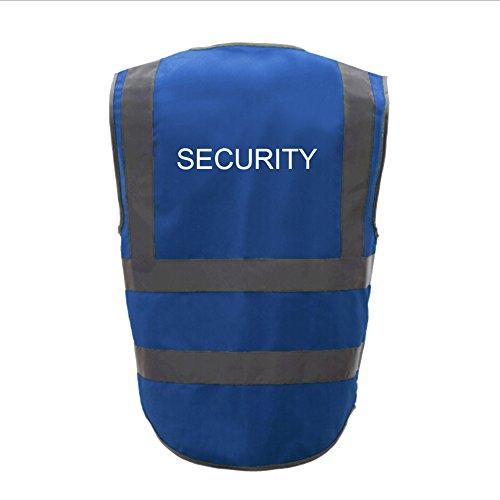 GOGO SECURITY 8 Pockets Hi Vis Safety Vest-Blue-L by GOGO (Image #9)