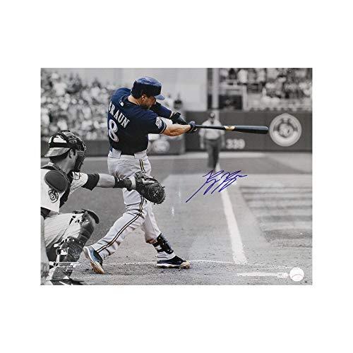Ryan Braun Autographed Milwaukee Brewers 16x20 Photo - MLB Hologram (Horizontal)