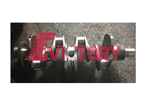 For Yanmar MARINE ENGINE REPAIR 4T112 crankshaft forged steel type STD (Crank Std)