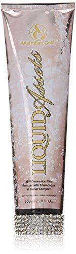 Australian Gold LIQUID ASSETS Tanning Bed Lotion 10 (Australian Gold Tanning Bed)