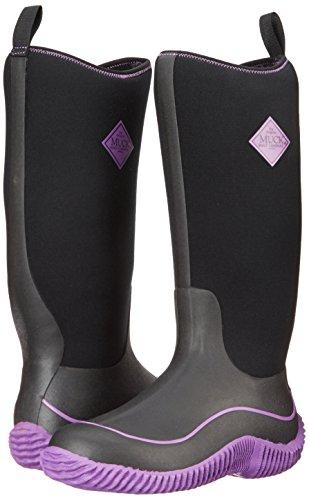 Boot De purple Para Estar Mujer Botas Negro black Muck Hale Casa Por RHxPRdw