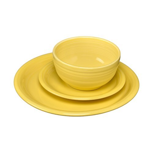yellow ware dishes - 4