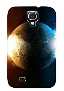 New Style Catenaryoi Exploding Planet Premium Tpu Cover Case For Galaxy S4 by heywan