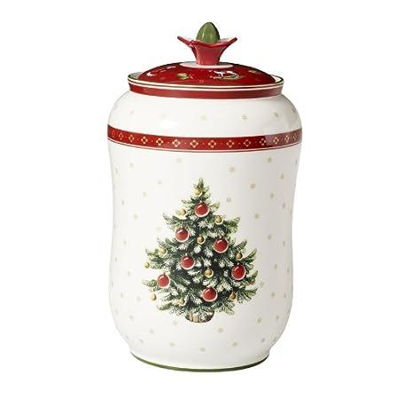 Villeroy Boch Tannenbaum.Villeroy And Boch Toys Delight Storage Jar Xmas Tree Amazon Co Uk