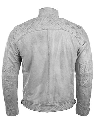 Da In Bianco Sulle Disegno Giacca Diamante 44t9 Vera Uomo A Motociclista Antico Con Spalle Aviatrix Pelle naAISUwxSq