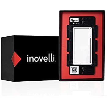 Inovelli Z Wave Dimmer Switch Black Series No Neutral