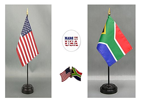 Made in the USA. 1 American and 1 South African 4