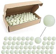 Rubber Ball Paintball .68 Caliber Reusable Training Soft Paintballs