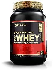 Optimum Nutrition ON Gold Standard 100% Whey Proteína en Polvo Suplementos Deportivos con Glutamina y Aminoacidos Micronizado