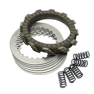 (Tusk Clutch Kit with Heavy Duty Springs - Fits: Honda CR500R 1990-2001)