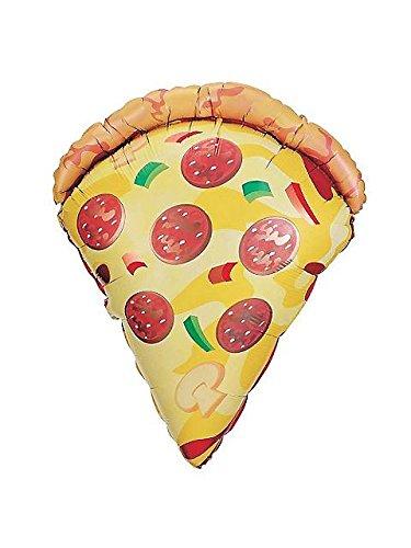 Pizza 38' Balloon (Each) - Party Supplies