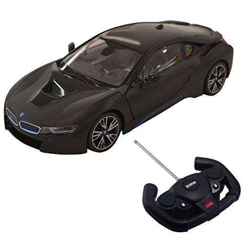 Bmw Vertical Doors (Costzon 1:14 BMW I8 Licensed Radio RC Car Remote Control w/Opening Vertical Door Black)