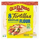 Old El Paso - 8 Tortillas - Regular Super Soft - 326g (Case of 12)