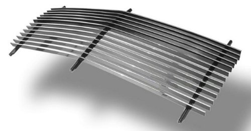 MaxMate Fits 88-93 Chevy C/K Pickup/92-93 Chevy Suburban/92-93 GMC Yukon (Fits Composite Plastic Lights) Replacement Upper 1PC Horizontal Billet Polished Aluminum Grille Grill Insert