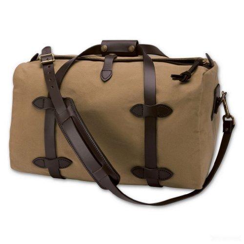 - Filson Small Twill Duffle Bag, Tan