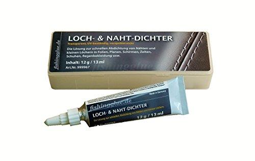 Loch- und Nahtdichter 12g für Zelt Isomatte Schirm Regenjacke Markise Vinyl PVC