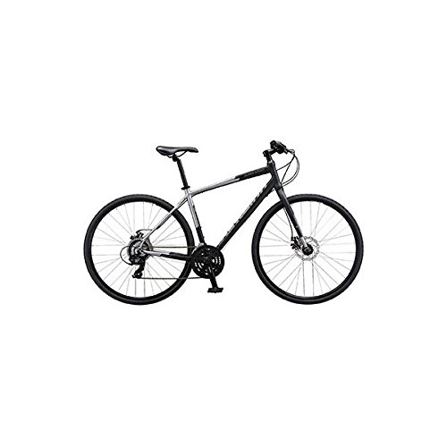 シュウィン(SCHWINN) クロスバイク SCW SUPER SPORT XS マット ブラック/グレー 2018 XSサイズ B077QSW3WX