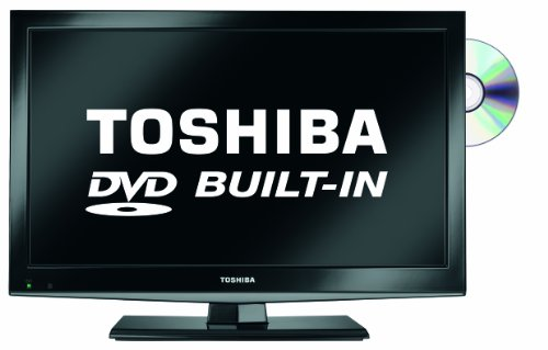 "Toshiba 19DL502B2 - 19"" High Definition LED TV with built-in DVD Player"