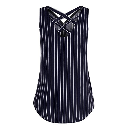 blue Camicia Dark Righe Vest A Greatestpak Donna nUFwS1Cq