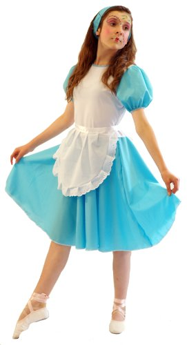 Diy Halloween Costumes For Girls Age 11 13.Cl Costumes World Book Day Wonderland Carroll Budget Alice Child S Fancy Dress Costume Age 11 13 Years