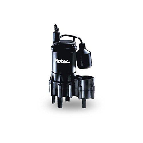 Pentair Flotec FPSE3200A Thermoplastic Sewage Pump 4/10 HP by Flotec