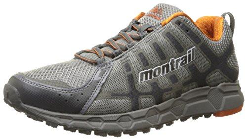 Montrail Mens Bajada Ii Trail Loopschoen Lichtgrijs / Woestijnzon