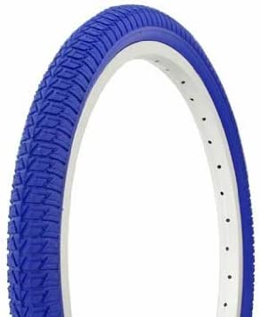 """Duro BMX Colored 20"""" X 1.75"""" Tire By Sgvbicycles (Blue)"""