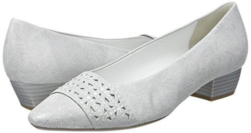61 absatz Fashion Donna Tacco Scarpe Con Bianco Gabor ice SnTU6q6w