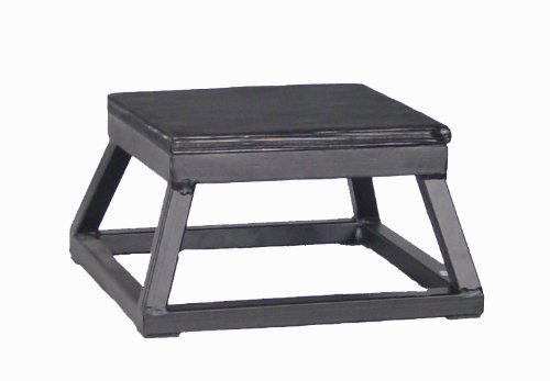 Ader Black Plyometric Platform Box (06