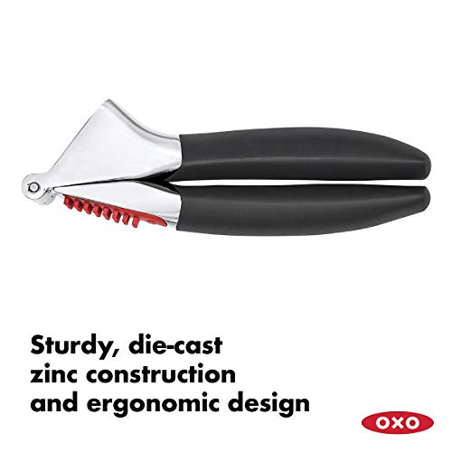 OXO Good Grips Soft-Handled Garlic Press