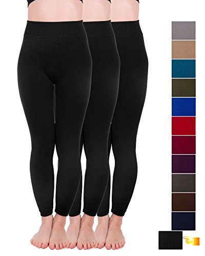 - 41xZHAXm3CL - Homma 3 Pack Warm Sweater Full Length Thermal Leggings