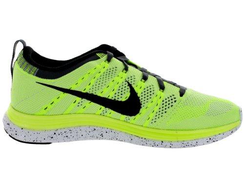 Nike Dames Flyknit One + Hardloopschoenen Volt / Black / White / Pure Platinum