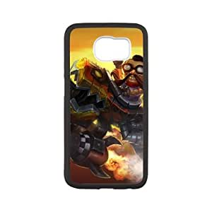 Samsung Galaxy S6 Cell Phone Case White League of Legends Hot Rod Corki Clmhz