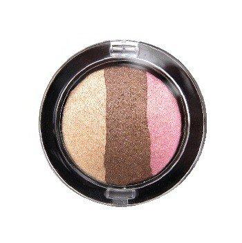 Jolie Luxurious Easy-Blend Baked Eyeshadow Trio's (Neapolitan Cream)