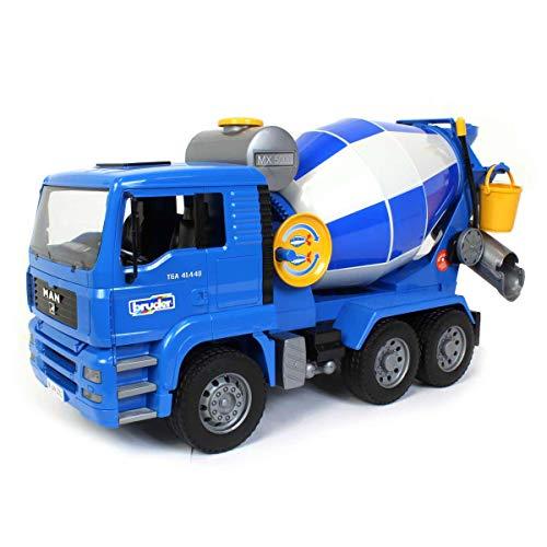 Tonka Cement Truck - Bruder MAN Cement Mixer