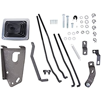 Hurst 3670027 Mastershift 3-Speed Shifter Installation Kit for Ford 2WD Pick-Up Truck